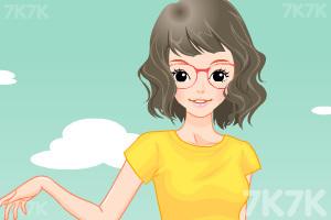《小女生开学换装》游戏画面7