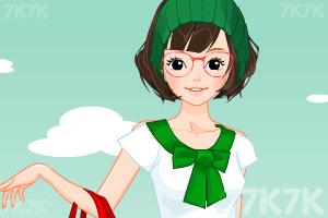 《小女生开学换装》游戏画面10