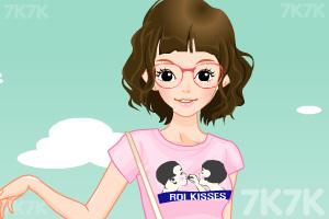 《小女生开学换装》游戏画面3