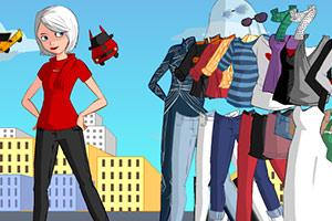 《打扮未来女战士》游戏画面1