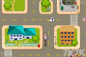 《美眉骑车上学》游戏画面2
