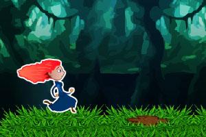 《勇敢女孩酷跑》游戏画面1