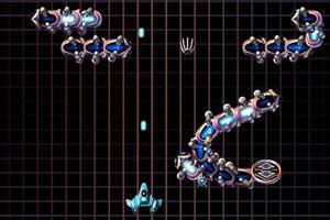 《蜈蚣战斗机》游戏画面1