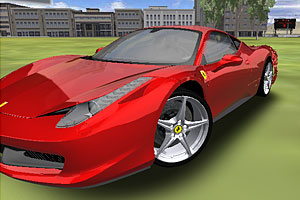 《驾驶法拉利3D》游戏画面1