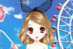 《森迪公主粉色萝莉秀》游戏画面1