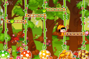 《美女猫采蘑菇》游戏画面5