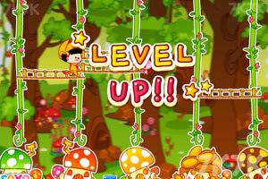 《美女猫采蘑菇》游戏画面3