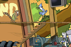 《小偷哪里跑》游戏画面1
