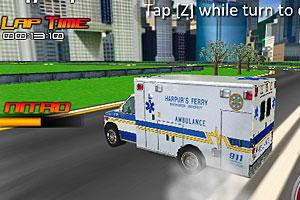 《城镇救护车》游戏画面1