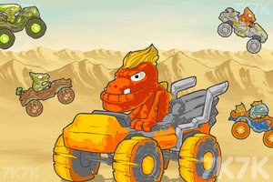 《怪兽大脚车竞速》截图2