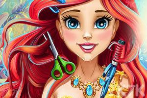 《人鱼公主美发》游戏画面1