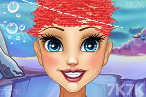 《人鱼公主美发》游戏画面3