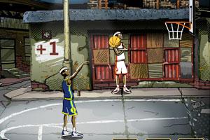 《篮球投篮比赛》游戏画面1