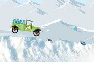 《牛奶卡车冰路驾驶》游戏画面1
