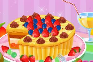 做蛋糕小游戏