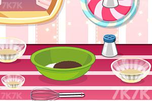 《美味巧克力草莓蛋糕》游戏画面4