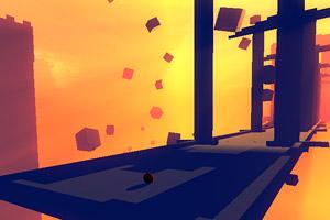《黄昏下的小红球》游戏画面1
