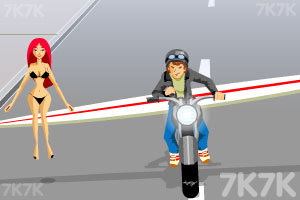 《单车带美女》游戏画面4