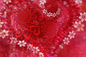 《情人节寻找隐藏的字母》游戏画面1