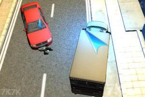 《3D救护车紧急驾驶》游戏画面1