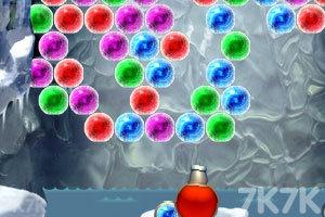 《雪人泡泡龙》游戏画面2