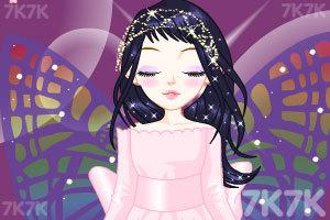《蝴蝶仙女换装》游戏画面2