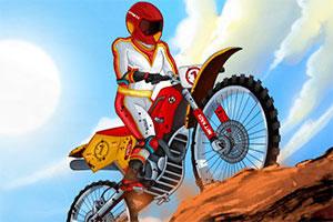 《越野摩托挑战赛无敌版》游戏画面1