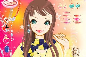 《活力美眉化妆》游戏画面3