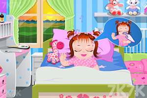 《照顾生病的宝贝》游戏画面2