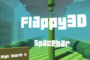 《飞翔的小鸟3D版》游戏画面1