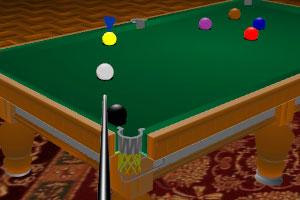 《9球挑战赛3D版》游戏画面1