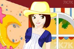 《苗条淑女梳妆》游戏画面3