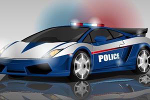 《警车急速出击无敌版》游戏画面1