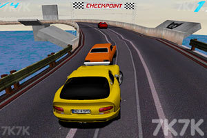 《3D蝰蛇赛车》截图1