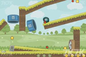 《刺猬果果的苹果乐园》游戏画面4