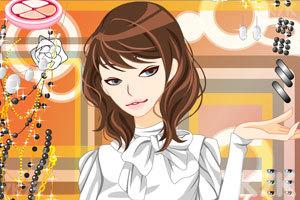 《妩媚MM化妆》游戏画面2