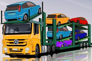 《运输汽车的大卡车3》游戏画面1