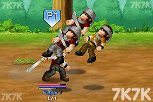 《英雄大作战V0.7终极无敌版》游戏画面2