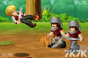 《英雄大作战V0.7终极无敌版》游戏画面1
