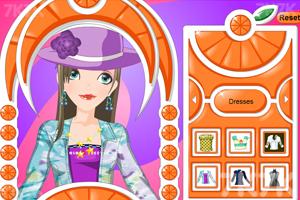 《打扮女生》游戏画面2