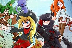 《幻想大战4升级版》游戏画面1