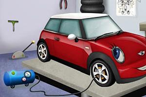 修理MINI汽车