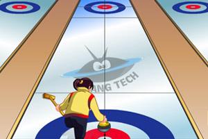 《冰壶球赛》游戏画面1