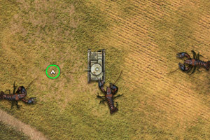 《坦克大战龙虾无敌版》游戏画面1