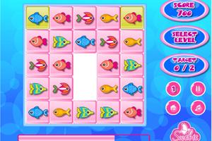 《海底小鱼对对碰》游戏画面1