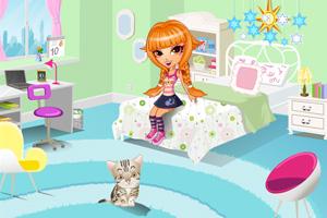 《小雪的卧室》游戏画面1
