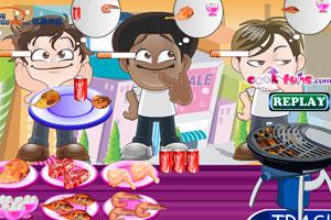 《城市烧烤店》游戏画面1