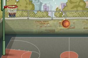 《集训投篮》游戏画面1