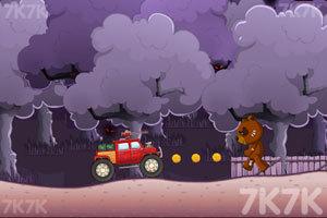 《汽车飞越》游戏画面1