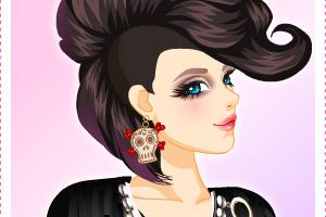 《女式霍克发型》游戏画面1